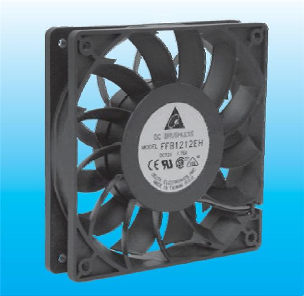 FFB1212HH-F00 [fans dc 12 v dc fan 120x120x25.4 w/speed sc-7383
