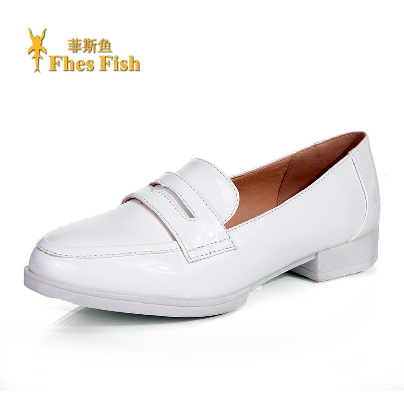 Fhesfish fez fish 2016 new spring and summer sets foot in mouth round flat comfortable shoes women shoes