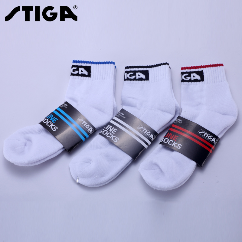 Fidel tica stiga stiga table tennis professional sports socks socks badminton tournament genuine three color options
