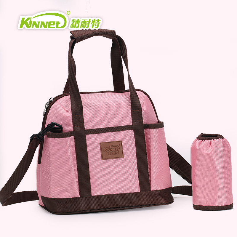Fine knight versatile trumpet mummy bag large capacity portable bag bottle bag fashion pregnant mom mother out