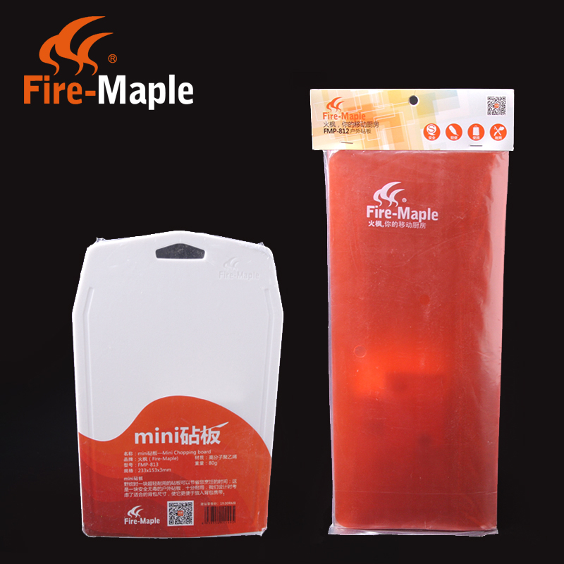 Fire maple/fire-maple 812/813 outdoor mini folding plastic chopping/cutting board chopping board