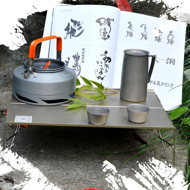 Fire maple maple fmb-913 authentic outdoor ultralight aluminum folding table outdoor camping portable mini tea table table