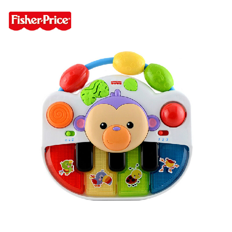 Fisher price fisher explore growth spinet BFH64 music toys educational toys genuine