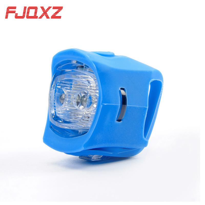 Fjqxz mountain bike taillight bicycle taillights colorful frog lamp lights warning lights dead fly bicycle lights bicycle equipment