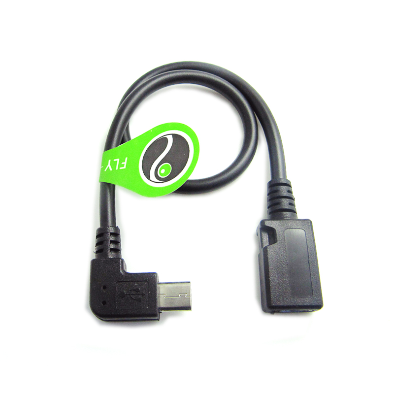 Float too mobile tablet micro usb male to female data extension cable right elbow micro usb data cable
