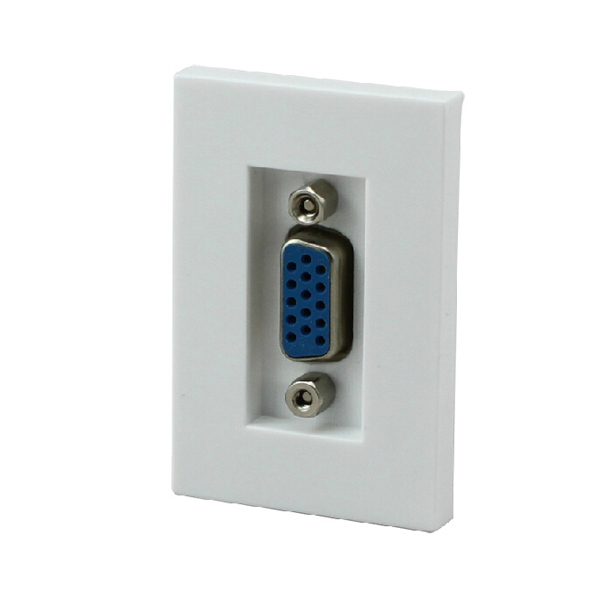 Float too n118 american 90 degrees l line module vga female on female vga cable wall outlet elbow Socket