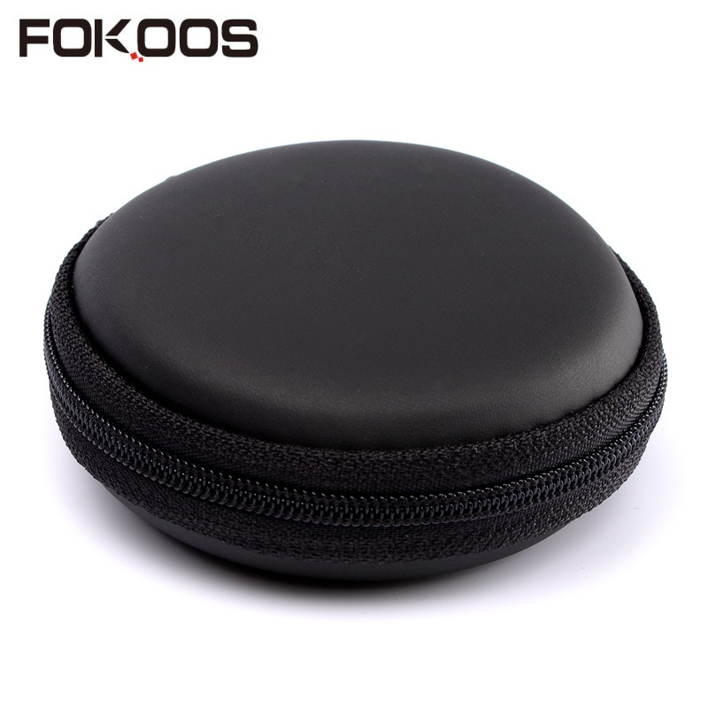 Fokoos pack headphone headphone headphone box storage box charger data cable digital headphone earbud headphones box storage bag