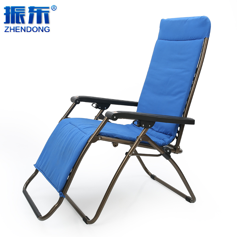Get Quotations · Folding Chair Recliner Lounge Chair Siesta Chair Cushions  Winter Plus Cotton Pad Cotton Intercropping Zhendong Lounge