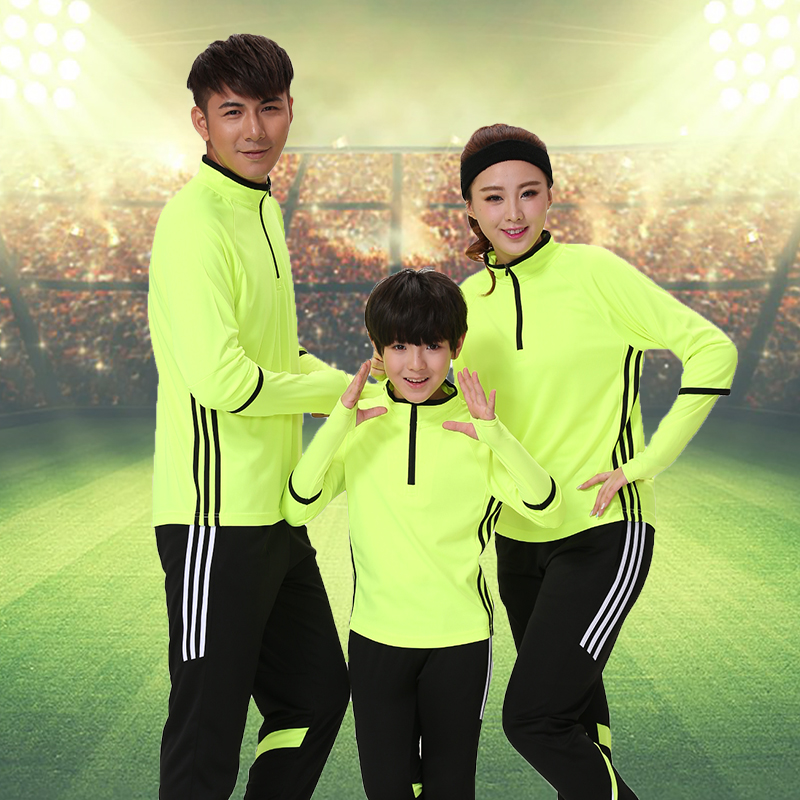 For gram football clothes suit male spring sleeved soccer clothes soccer training suit buy custom shirts