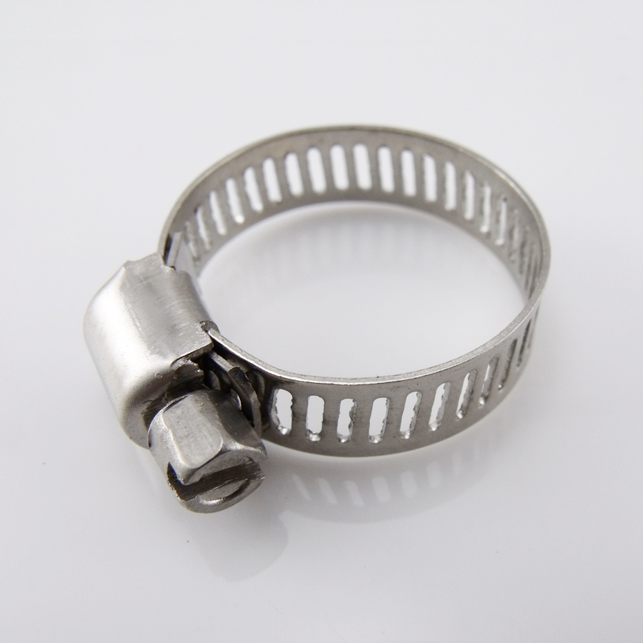 For volatilisation is 16mm stainless steel hose clamps pipe clamp hoop authentic stainless steel fasteners gas card hoop