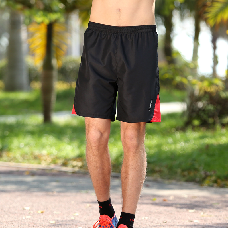 e10de9794a3 Get Quotations · Force leevy marathon running shorts male summer sports and  leisure five pants beach pants breathable