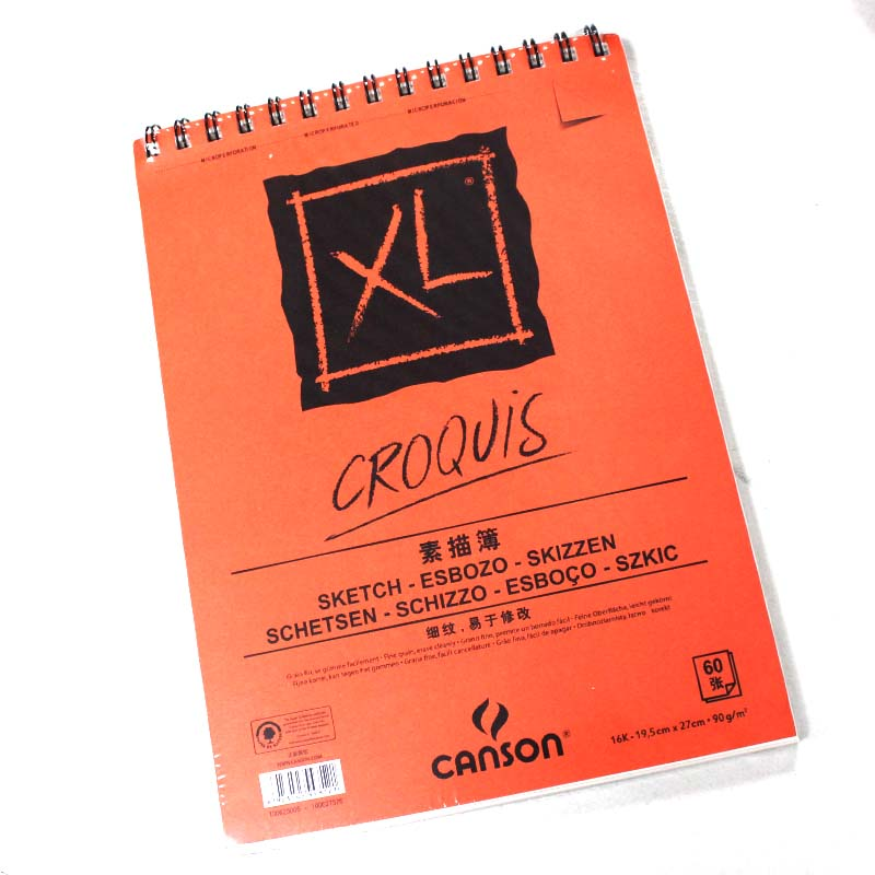 France canson canson xl series sketchbook sketchbook coil imports 90g 60 zhang