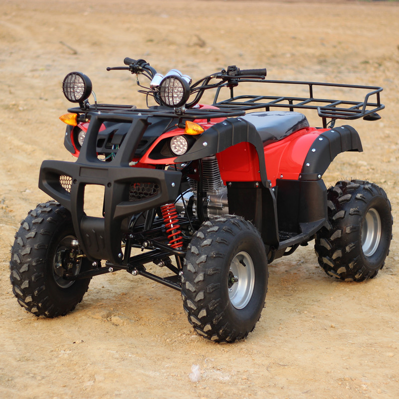 Free shipping 150cc differential shaft drive double net lights four big bull atv motocross atvs