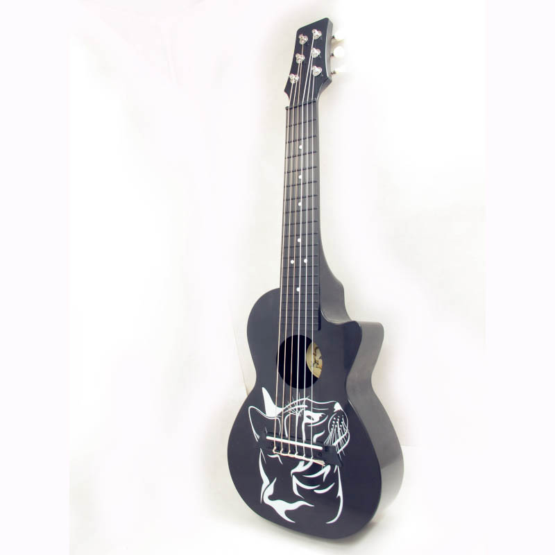 Free shipping-28 inch 6 chordç´ä¹å…丽丽6-string guitar mini guitar six string small guitar guitar ri AZL-28-9 grounds