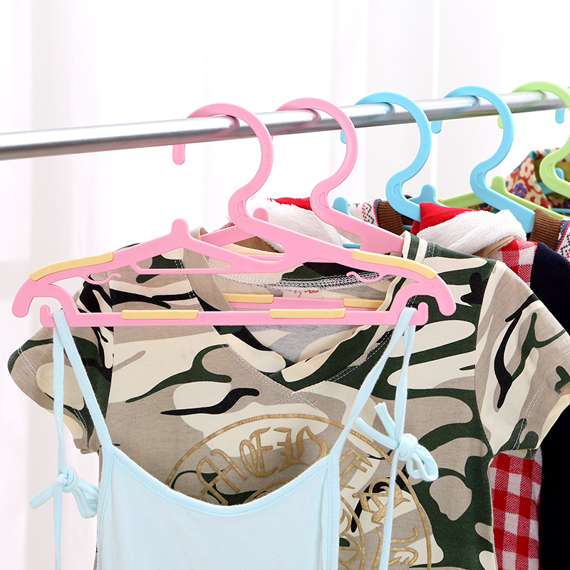 Free shipping adult slip hangers plastic hangers hanger racks baby infant child cute little children 5