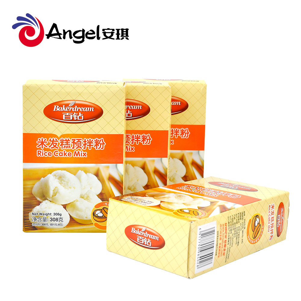 Free shipping angel hundred drill rice cake mixes do rice rice cake flour cake flour 308g * 4 box