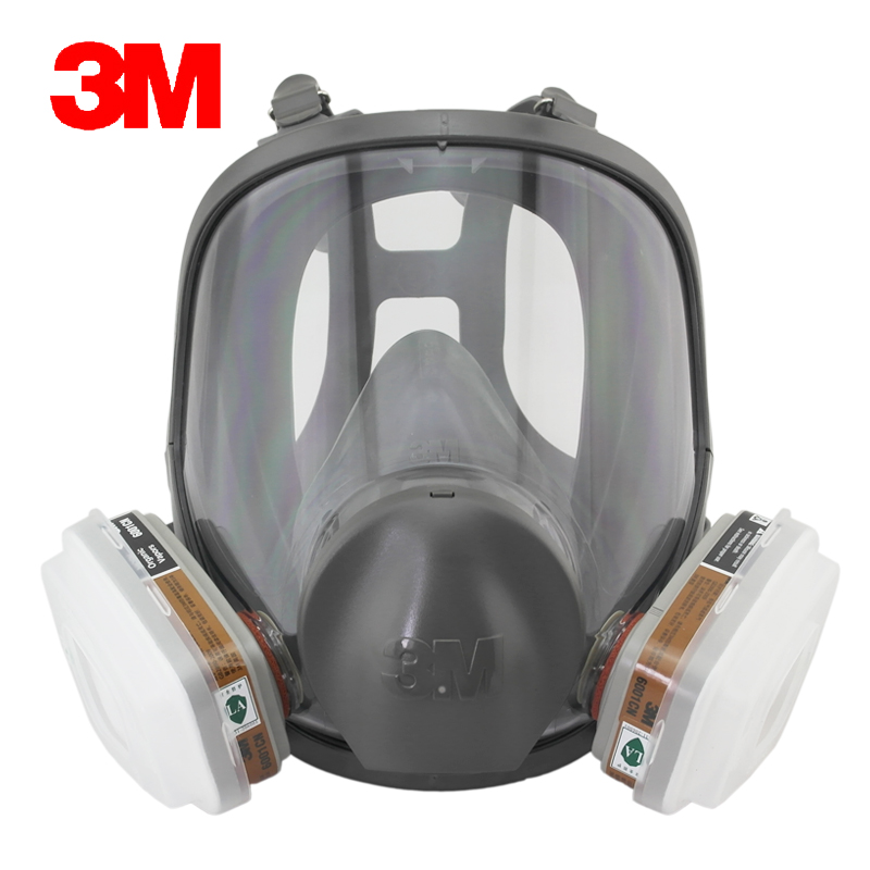 Free shipping authentic 3m6800 qi jiantao special paint dust protective masks antivirus formaldehyde antivirus full cover