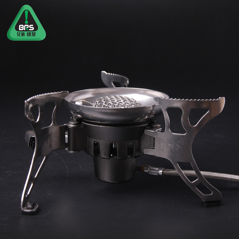 Free shipping authentic brs-15 wind gas stove burner gas stove outdoor camping picnic stove cooking equipment