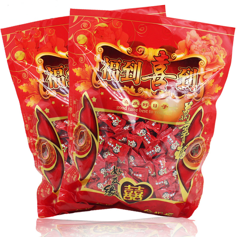 Free shipping authentic wang zi wang zi milk sugar toffee candy bags 750g want milk sugar