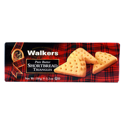 [Free shipping] british imports volks triangle/cutter/round shortbread butter 150g