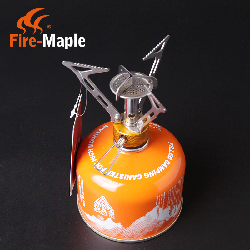 Free shipping fire-maple fire maple fms-103 high altitude camping gas stove/power/integrated burner