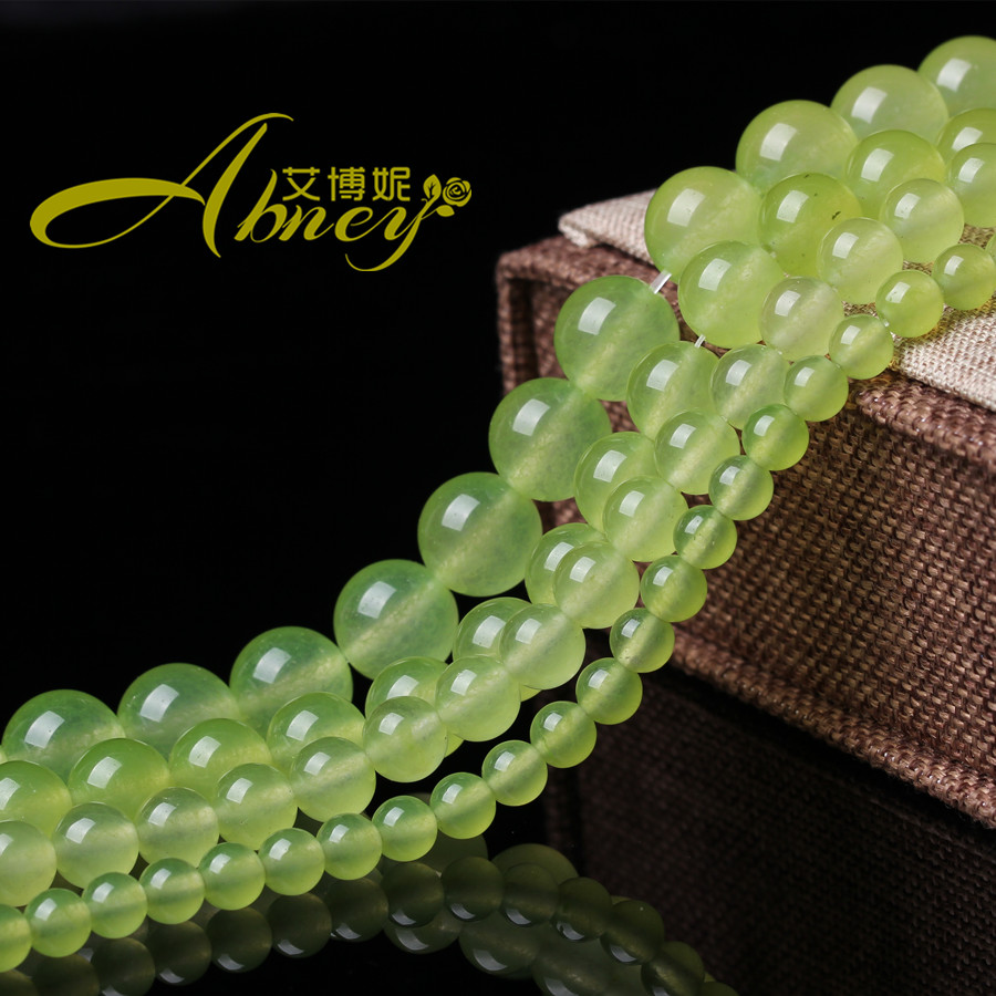 Free shipping grape green chalcedony chalcedony semifinished diy crystal loose beads jewelry accessories female jewelry accessories