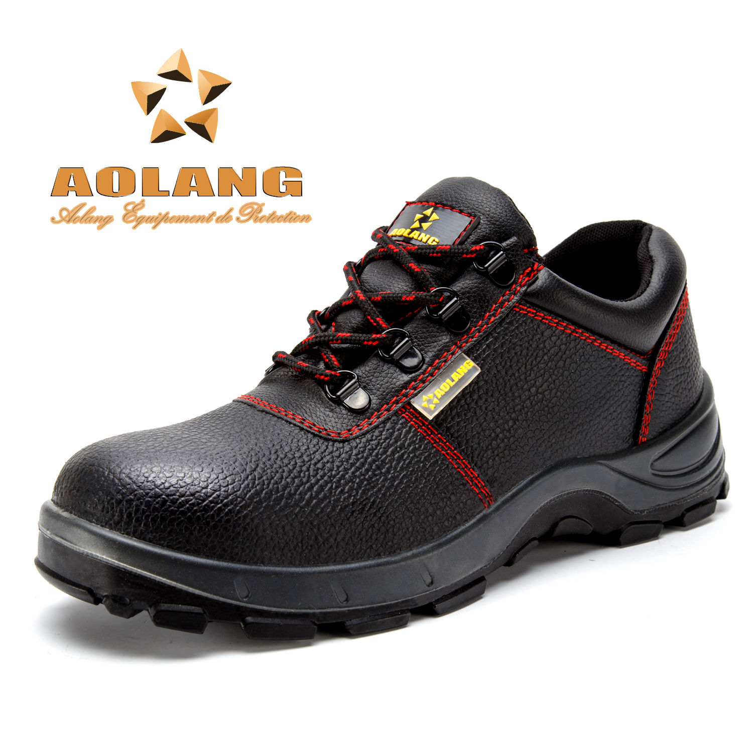 Free shipping labor baotou steel safety shoes men slip breathable waterproof pu bottom anti smashing stab wear and deodorant kitchen