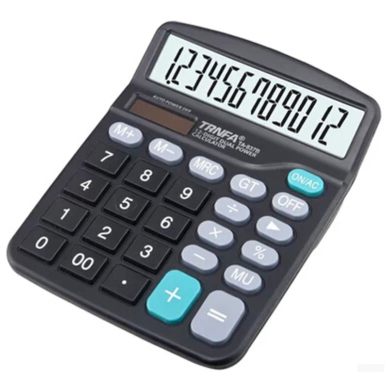 Free shipping letter ta-837a calculator 12 digit calculator solar calculator electronic calculators