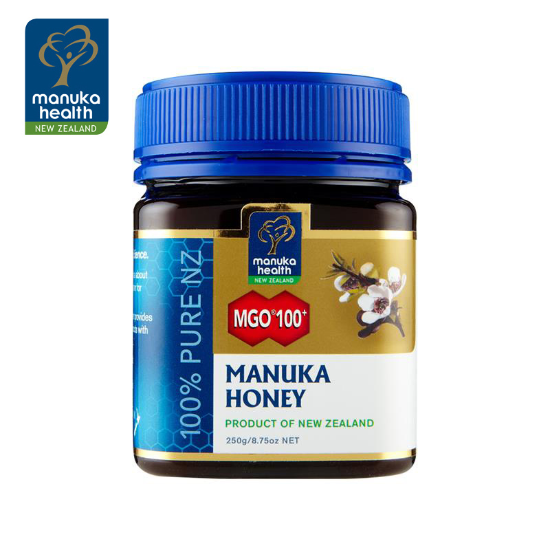 Free shipping new zealand imported food kang brand of honey mgo100 + manuka honey 250g soil honey
