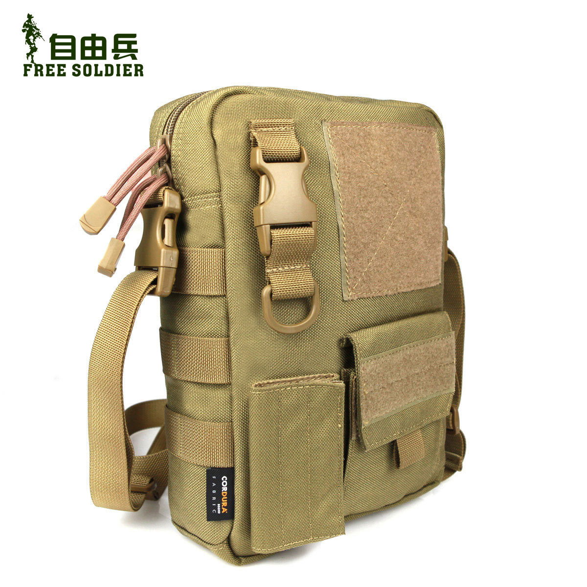 Freedom soldiers outdoor tactical shoulder bag messenger bag leisure bag tactical duty bag debris