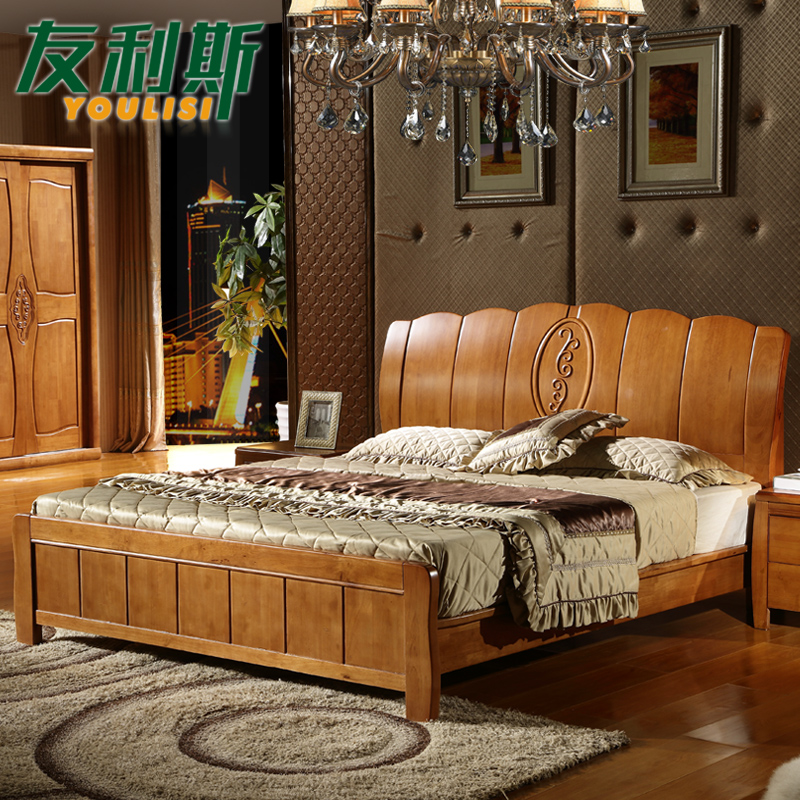 Get Quotations Friends Of Leith Modern New Chinese Wood Bed 1 5 M 8 High Twin Storage