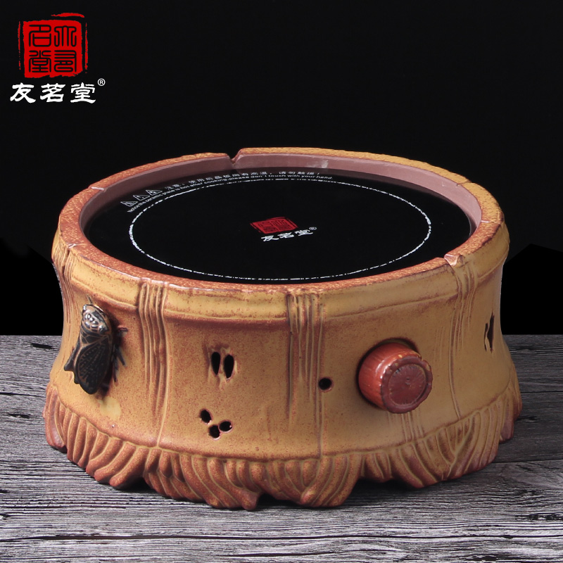 Friends of the ming tang ceramic household electric ceramic stove stove tea furnace silent radiation waterproof kung fu tea electromagnetic stove Furnace