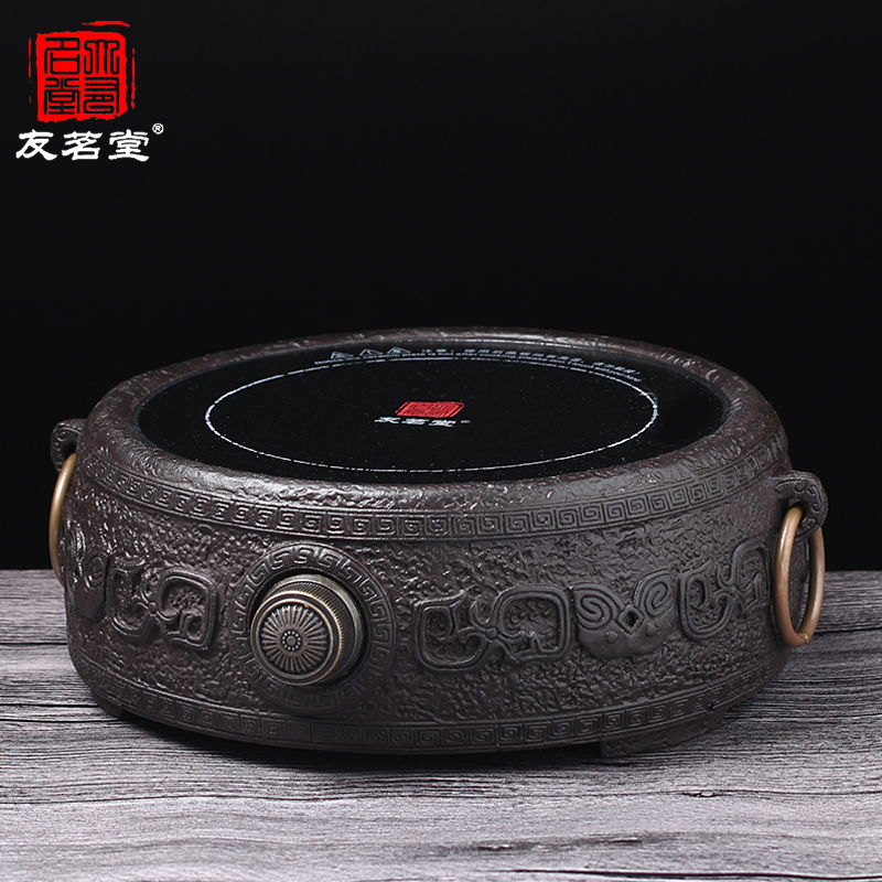 Friends of the ming tang household electric ceramic stove cast iron stove with electric stove mini cooker pot boiling tea furnace electric furnace Stove