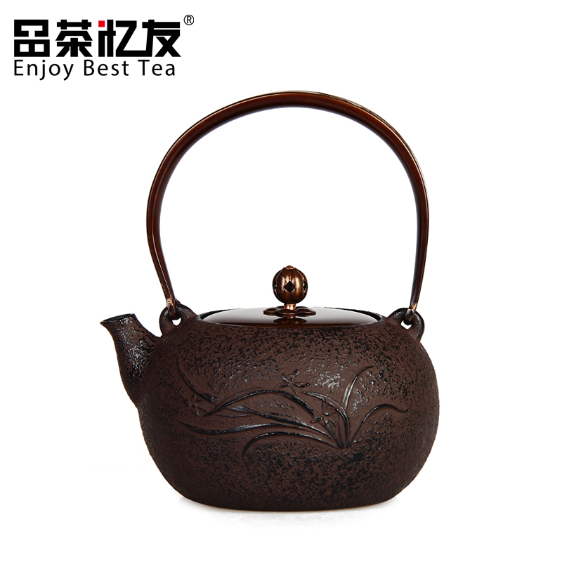 Friends recalled tea chunlan old iron pot uncoated cast iron pot in southern japan teapot tea kettle boils water