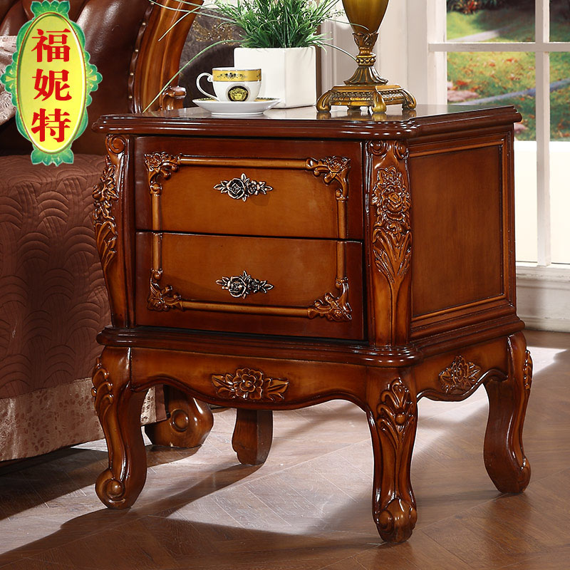 Fu nite euclidian euclidian upscale european and american style bedside cabinet wood bedside cabinet bedside cabinet storage cabinets lockers