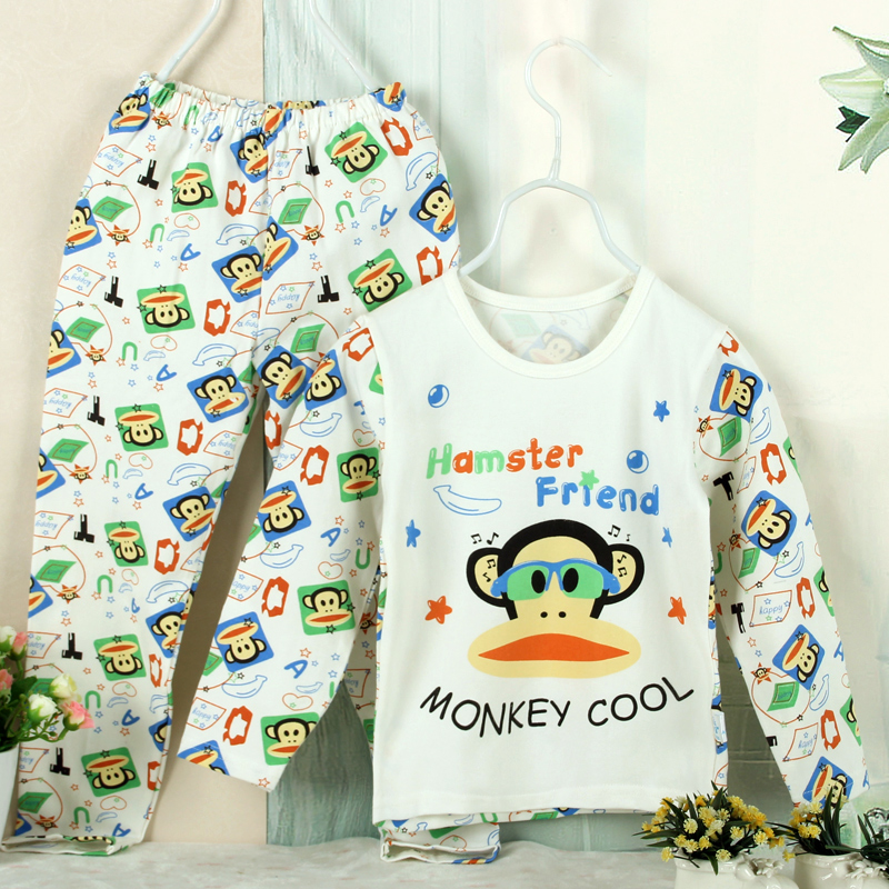 Fun house more baby clothes for men and women spring baby cotton underwear suit newborn baby qiuyi cotton pants for boys and girls clothes