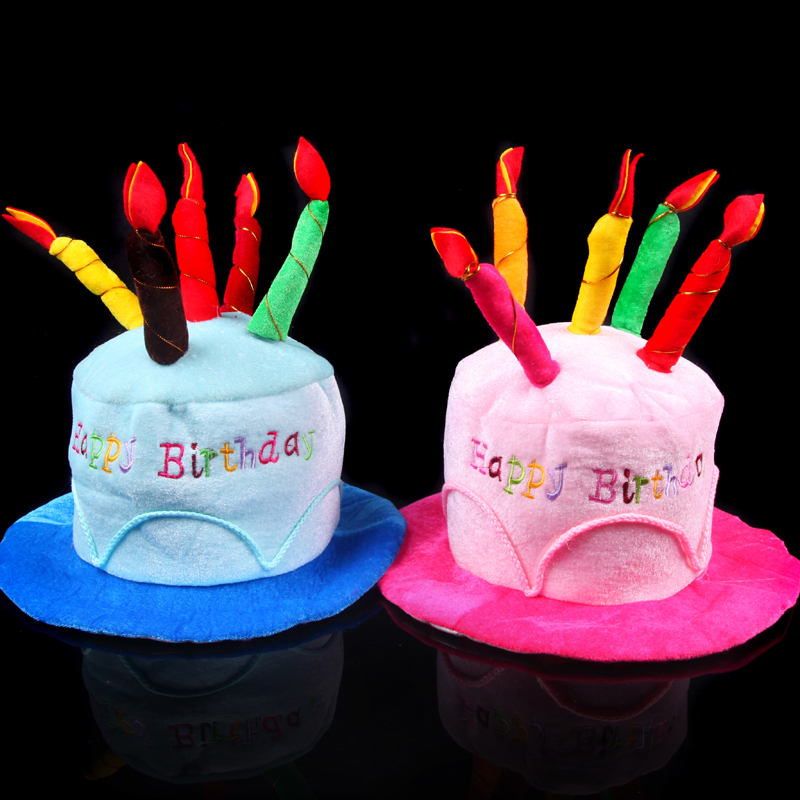Fun point show party dress party supplies adult children birthday hat birthday hat birthday cake hat