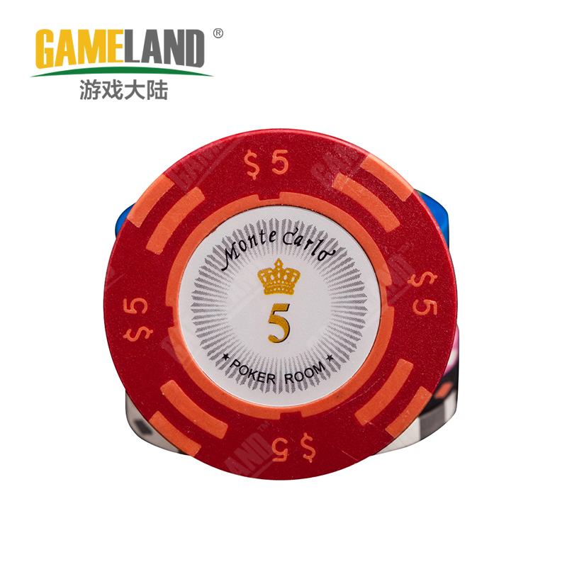 Game mainland texas poker chips baccarat mahjong chess room 14 grams of clay chips coins