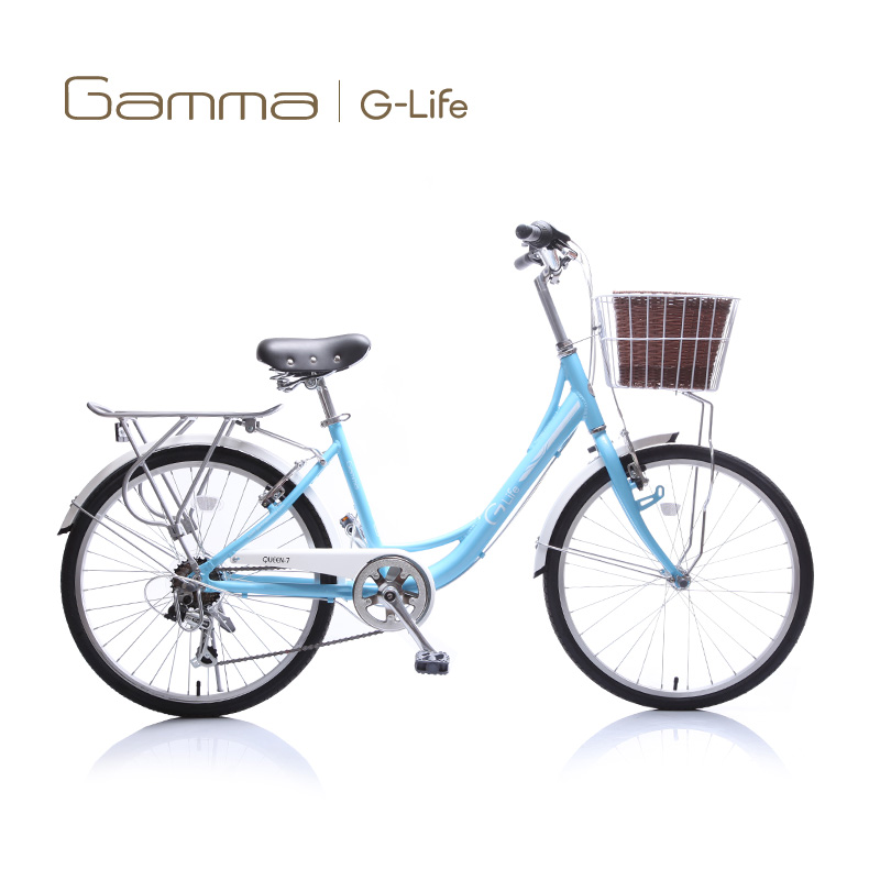 Gamma/jie ma inch ladies bike 24 aluminum alloy casual princess adult male and female students cycling gear