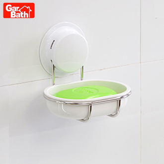Garbo sucker stainless steel soap dish soap soapbox creative fashion soap box soap care soap dish soap holder drain euclidian