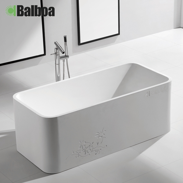 Gbagbo bowlder seiko artificial stone bathtub bathtub square bathtub euclidian separate bath tub 9810