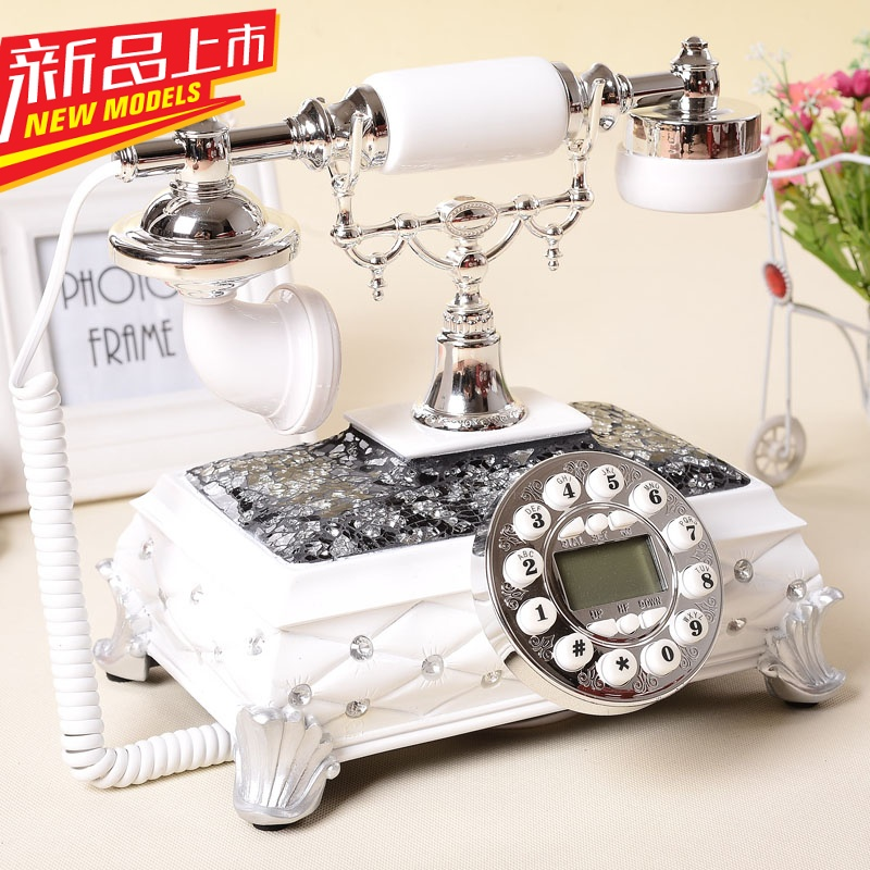Gdids new european pastoral fashion vintage antique telephones retro telephone landline home office telephone