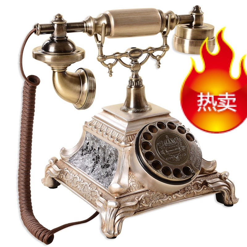 Gdids turnplate classical european antique telephone fashion creative personality vintage home complex ancient office phone