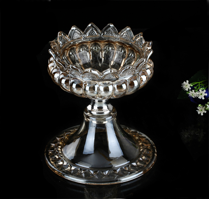 Ge jia rui erou neoclassical retro luxury crystal glass ashtray vase decoration