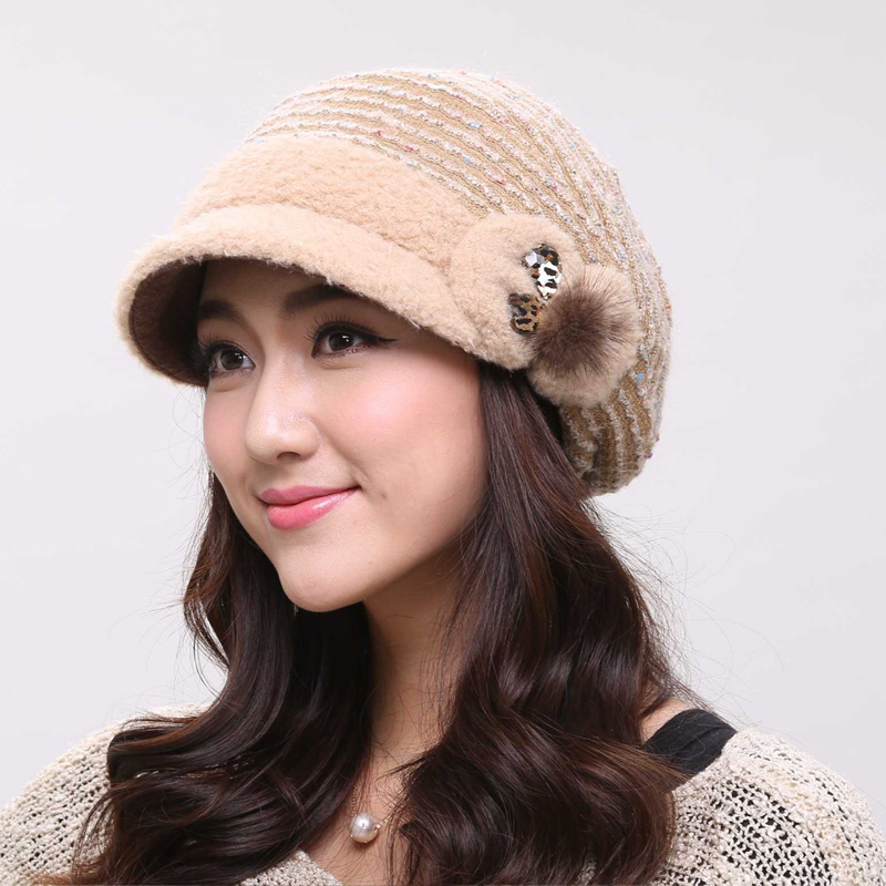 Gema shi new beret hat female korean tidal plus thick velvet autumn and winter aristocratic ladies fashion hats cap
