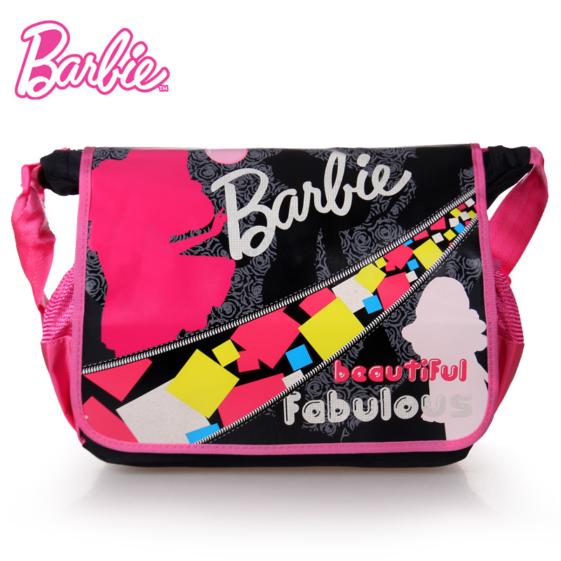 Genuine barbie/barbie children bag messenger bag princess girls cram shoulder bag fashion girls bag