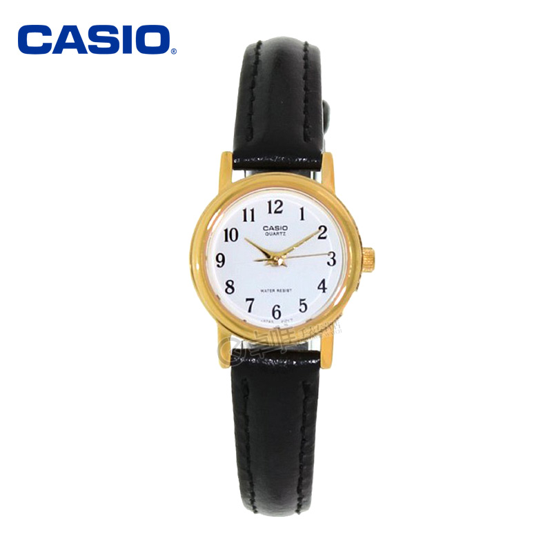 Genuine casio casio watches female form ltp-1095q-7b classic leather belt quartz watch female students