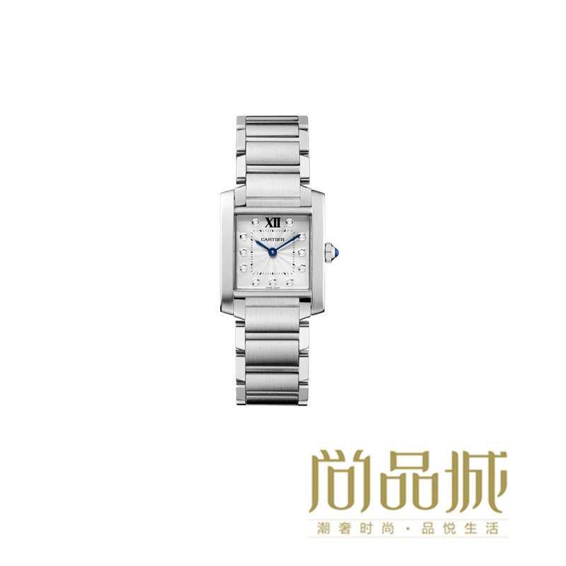 Genuine direct mail 2016 of the new cartier cartier tank stainless steel ladies watches watch WE110006