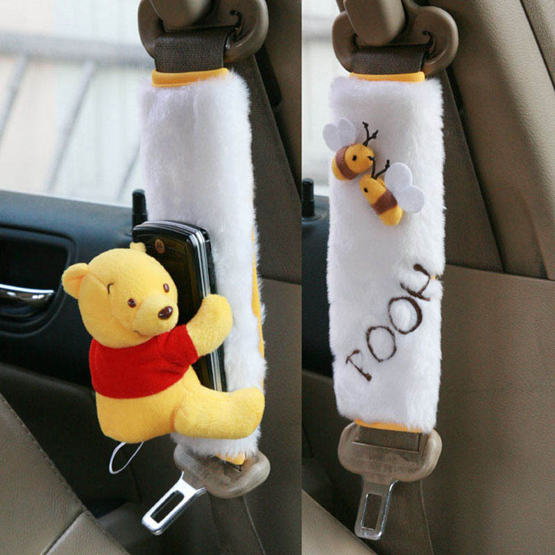 Fabulous Buy Genuine Disney Pooh Car Seat Belt Cover Seat Belt Spiritservingveterans Wood Chair Design Ideas Spiritservingveteransorg