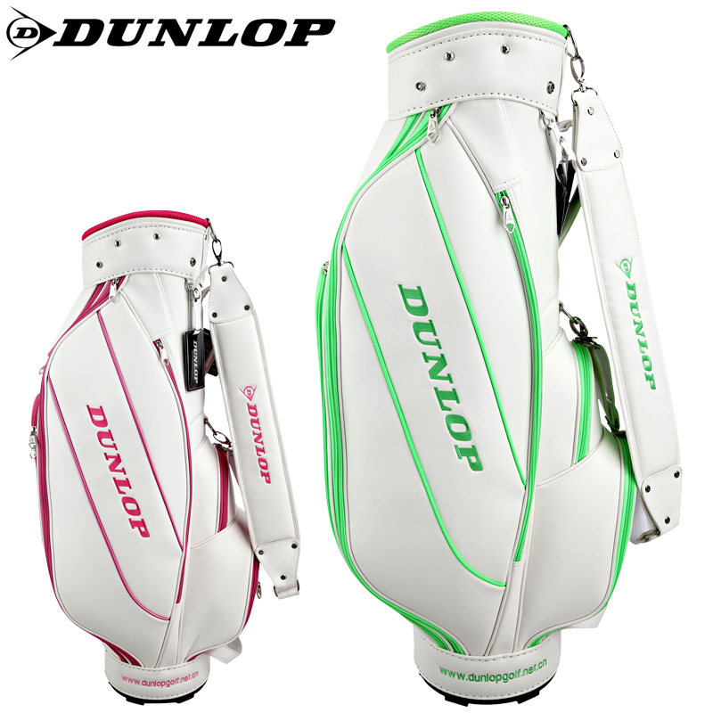 Genuine dunlop/dunlop ladies golf professional golf bag golf bag golf bag golf club bag bucket bag women